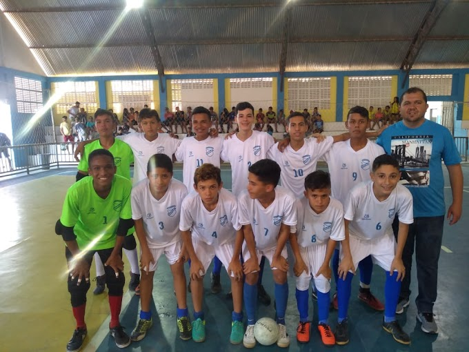 Equipe Sub-14 da EMPAM, faz jogo decisivo hoje pelas quartas de final do JERNS/2019