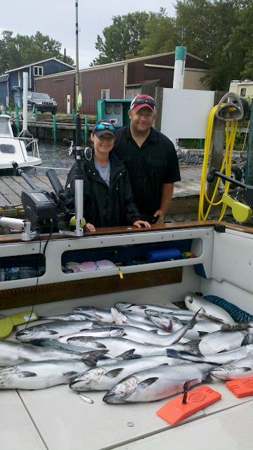 Lake Michigan King Salmon Fishing Charters