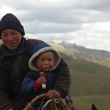 Kirghizes sur la Dolon Pass, 15 juillet 2006. Photo : J.-M. Gayman