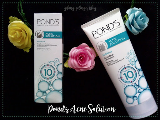 rangkaian ponda acne solution