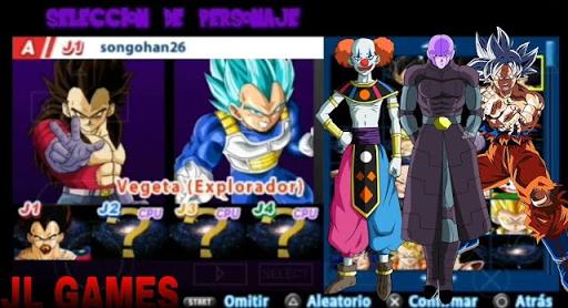 SAIU!!! NEW MOD TENKAICHI TAG TEAM + MENÚ DRAGON BALL SUPER (PSP) 2018 MEGA FULL DBZ TTT