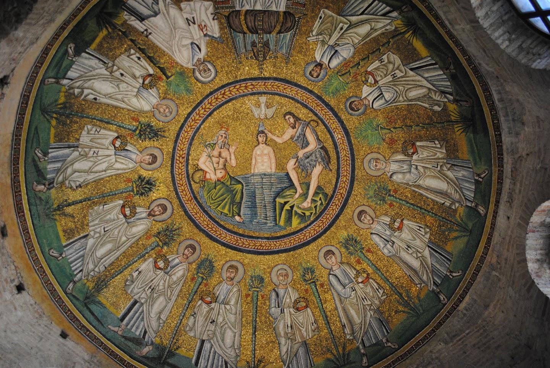 My Photos: Italy -- Mosaics -- Ravenna -- Arian Baptistry