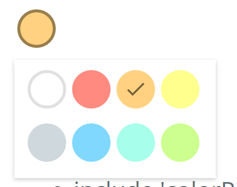 Google-Keep-Style-Color-Picker