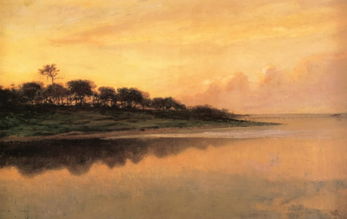 William Morris Hunt - View of the St. Johns River
