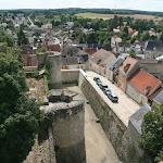 Château : Donjon, vue sur la ville