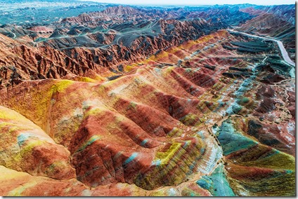 Rainbow-Mountains-Zhangye-National-Geopark-china