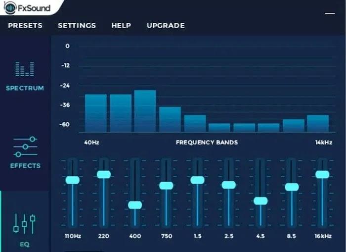 Best Audio Equalizer Apps FXSound