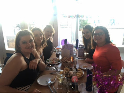 Birthday meal out