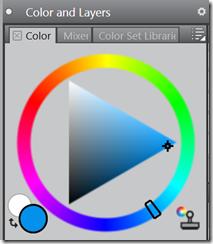 Corel Painter's Colour Wheel