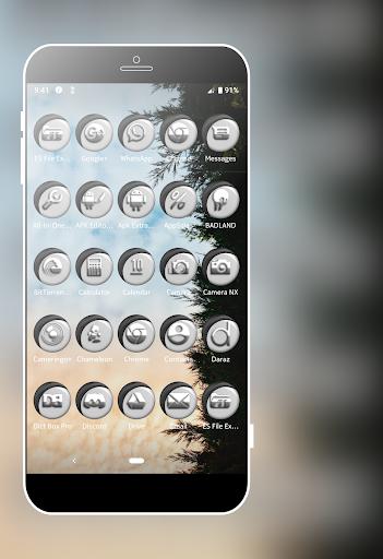 Download Grayish White Icons Pack MOD APK 6