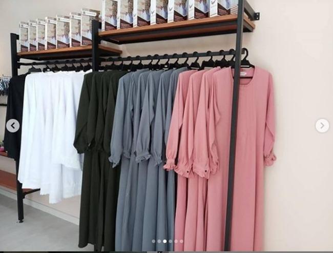 jubah cantik di butik al kauthar 2018