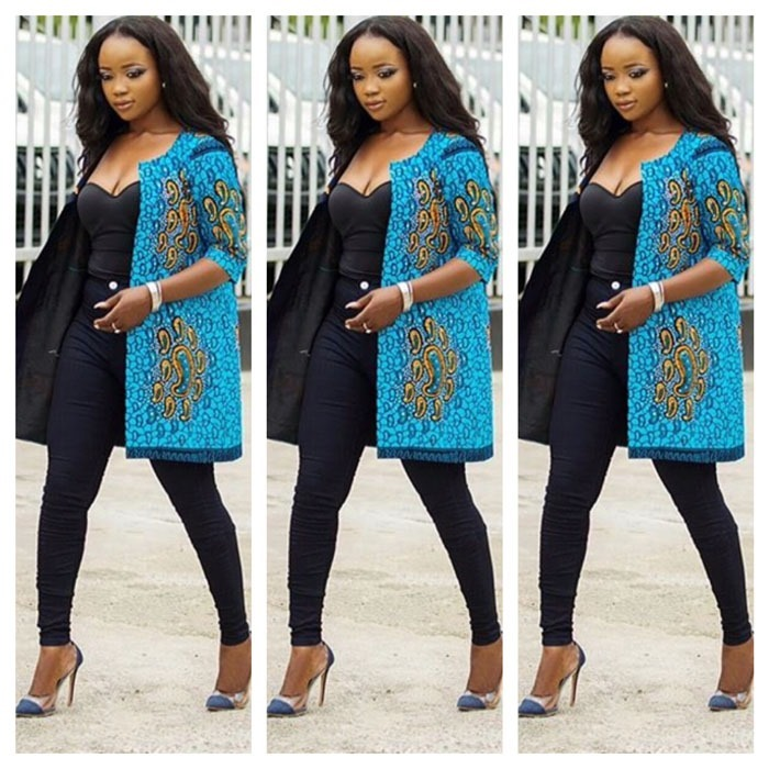 Pictures of Ankara kimono gowns Fashion collection - 2018 , 2018 (6)