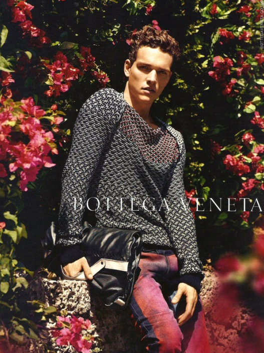 Alex Cunha @ DNA/Nous by Jack Pierson for Bottega Veneta S/S 2012.