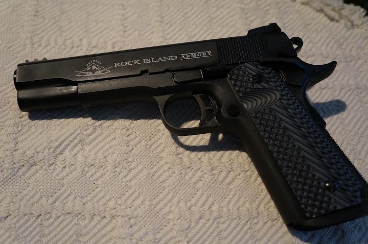 Kor's New Gun - Rock Island 1911 in 10MM | North Carolina