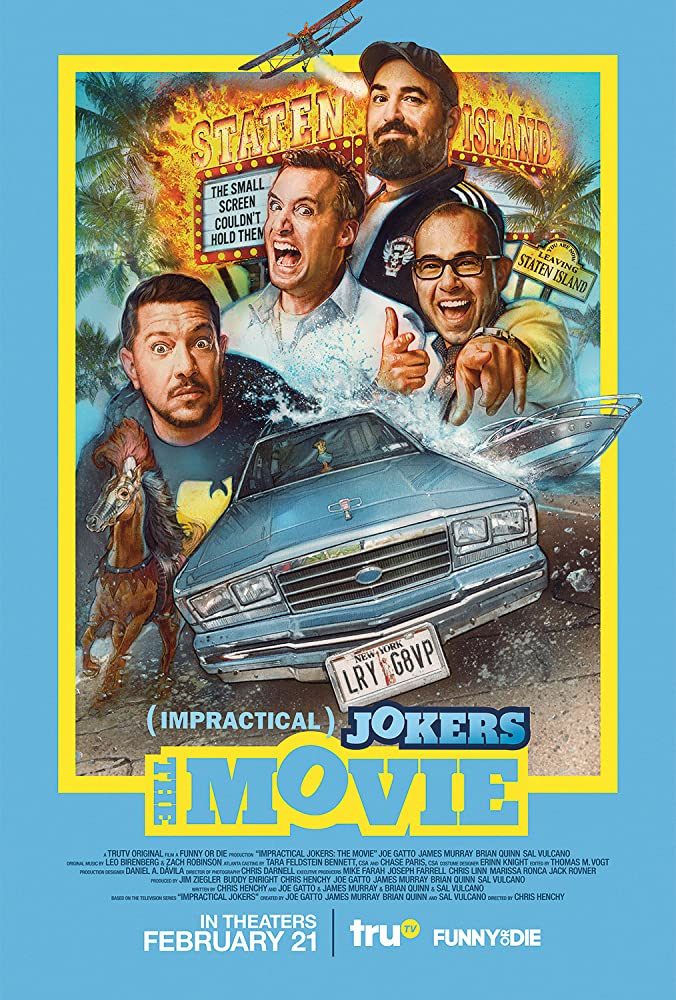 [Movie] Impractical Jokers (2020)