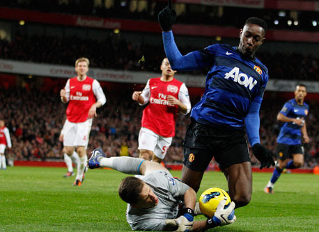 Danny Welbeck, Arsenal - Manchester United