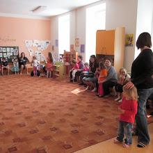 Besídka pro maminky ve školce - květen 2013