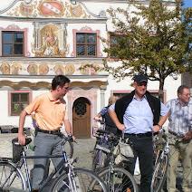 Gaimersheimer Buerger radeln mit den Buergermeister photos