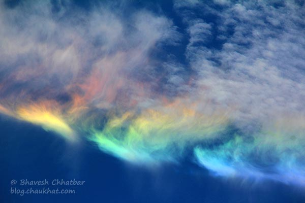 Lower Symmetric 46° Plate Arc, Circumhorizon Arc, Circumhorizontal Arc, Fire Rainbow