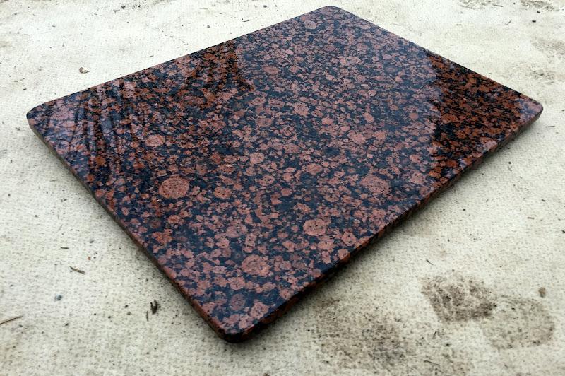 Granitplatte Nach Maß : tischplatte granitplatte couchtischplatte esstischplatte naturstein braun tisch ebay ~ Watch28wear.com Haus und Dekorationen