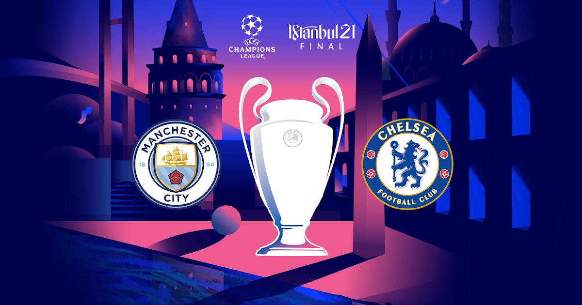 Champions League Istanbul Final 2021 Related Font