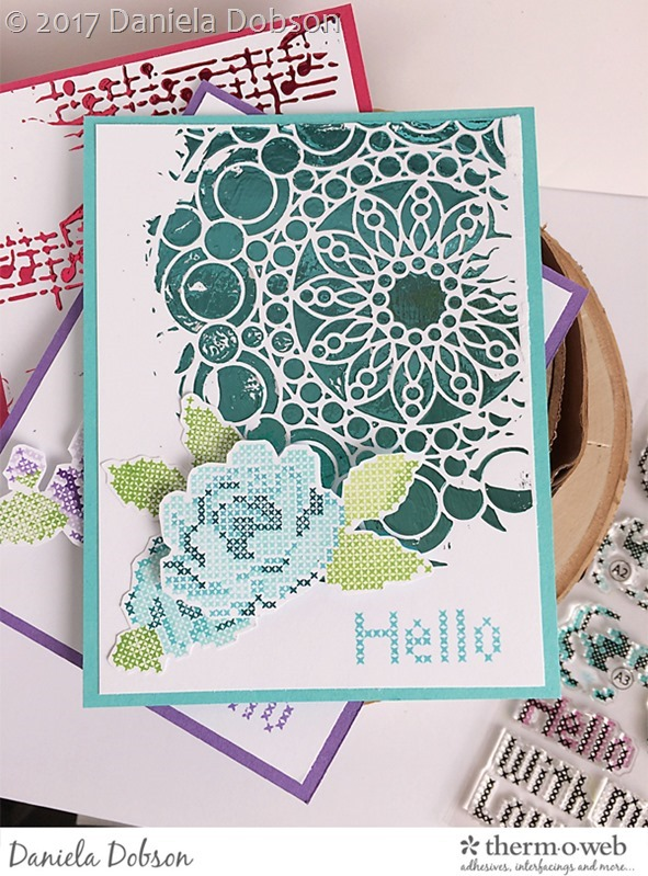 Hello card set 2 by Daniela Dobson