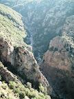 la Rajole est la partie étroite du canyon