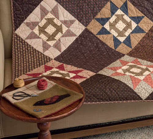 Fear Not! Primitive is Not a Color! : primitive quilts and projects blog - Adamdwight.com