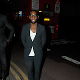 WWW.ENTSIMAGES.COM -    Tinie Tempah at London Collections: Men : Oliver Spencer BFC Show Space, Old Sorting Office New Oxford Street London January 8th 2013                                                       Photo Mobis Photos/OIC 0203 174 1069