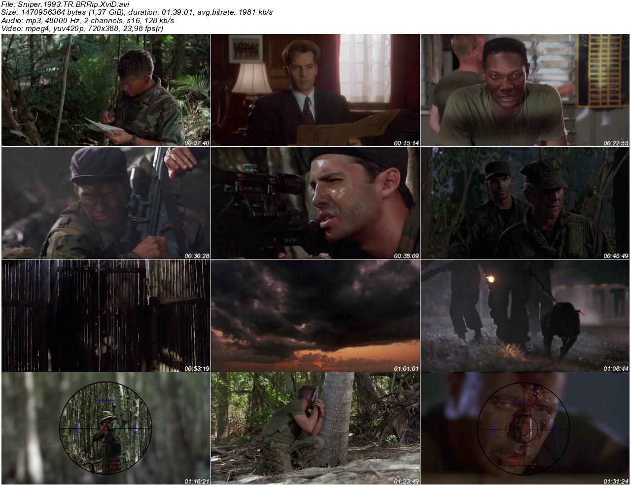 Sniper 1993 - 1080p 720p 480p - Türkçe Dublaj Tek Link indir