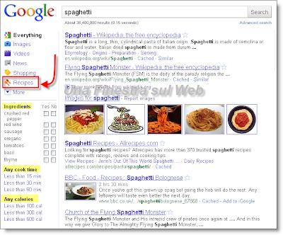 google-ricerca-ricette