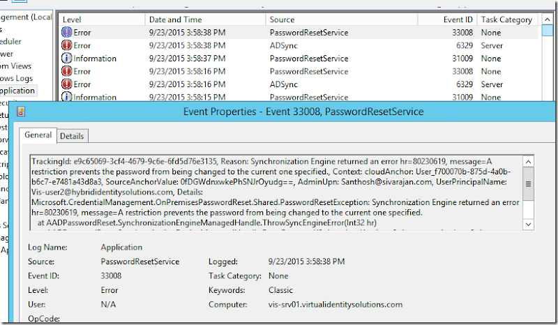 Azure Password Reset – The Password you've selected does not
