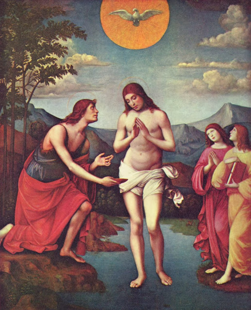 Francesco Francia - Baptism of Christ