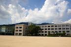 校舎全景(2010/8)