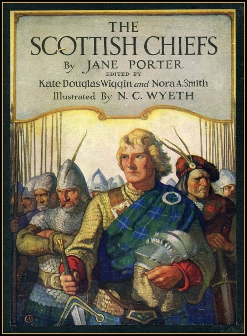 N. C. Wyeth - The Scottish Chiefs, cover illustration