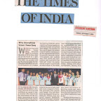 Article in NIE Times -Investiture Ceremony in Edition 7th September,2015