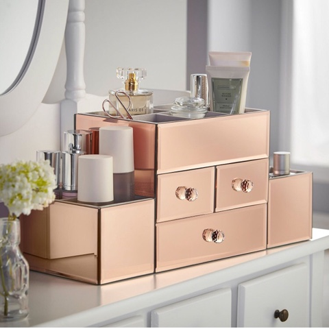 Beautify Worldwide jewelry and makeup storage drssing table