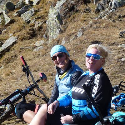 Ladykracher Tag 6 Schartlkamm, das Finale        (bikehotels, trailbiker)