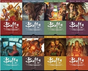 Buffy Season 8 covers