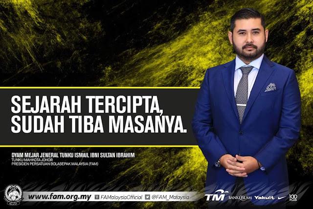 TMJ Umum Letak Jawatan Presiden FAM