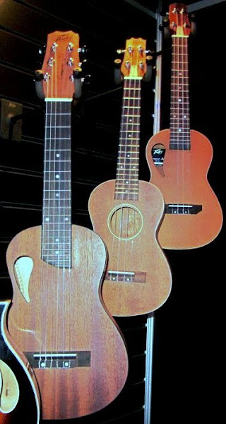 Peavey prototype Guitarlele and Ukulele