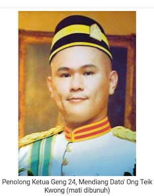 Apa Jasa Gangster Hingga dapat Dato' Seri, Dato'