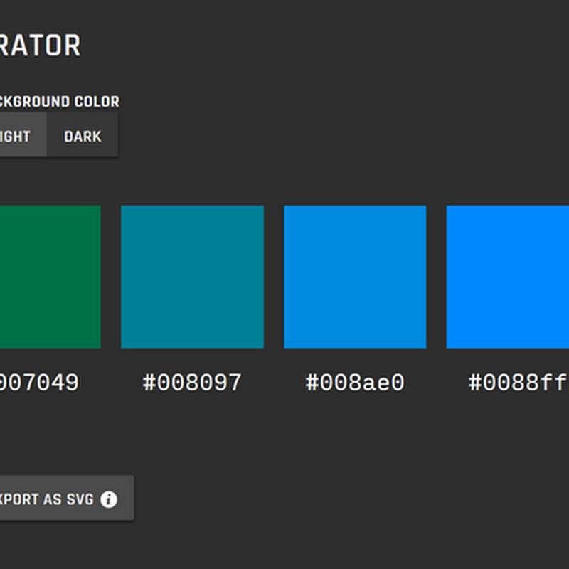 El mejor generador de paletas de colores