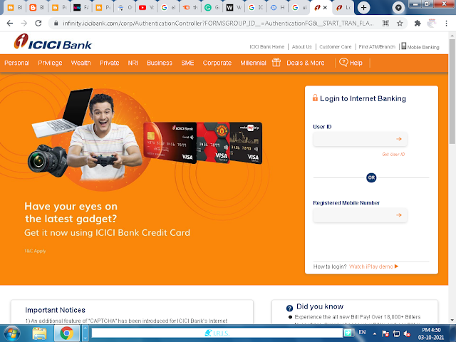 how to increase icici credit card limit
