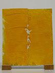 """""""Brustkorb"""", Experiment, Glas bemalt, gebrannt, 2006"""