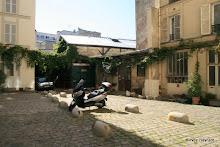 48 rue Ramponeau : cour