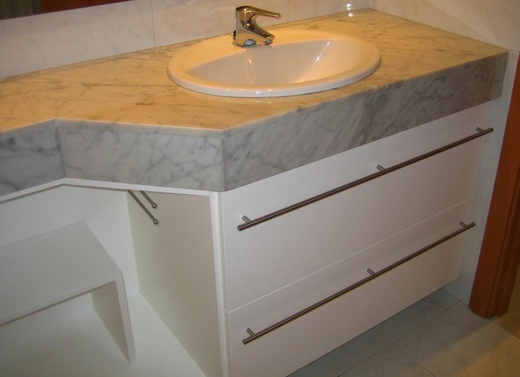 muebles para lavabo a medida barcelona