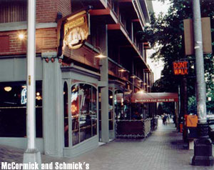 Photo of McCormick and Schmick's in downtown. Photo courtesy of McCormick and Schmick's.