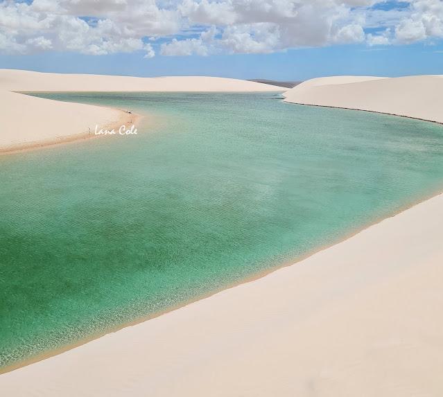Circuito Lagoa Azul em Barreirinhas, Lençóis Maranhenses.