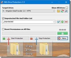 برنامج مكافحة الفيروسات للفلاشات ال usb driver NTFS Drive Protection -5